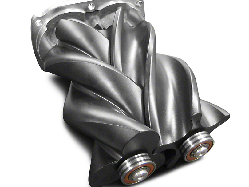 Whipple W140AX 2.3L Intercooled Supercharger Tuner Kit - Black (03-06 4.8L Silverado 1500)