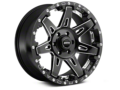 SOTA Off Road BATL Death Metal 6-Lug Wheel - 20x10 (07-18 Silverado 1500)