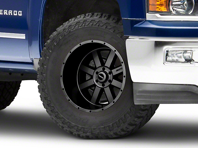 SOTA Off Road A.W.O.L. Anthra-Kote Black 6-Lug Wheel - 22x12 (99-19 Silverado 1500)