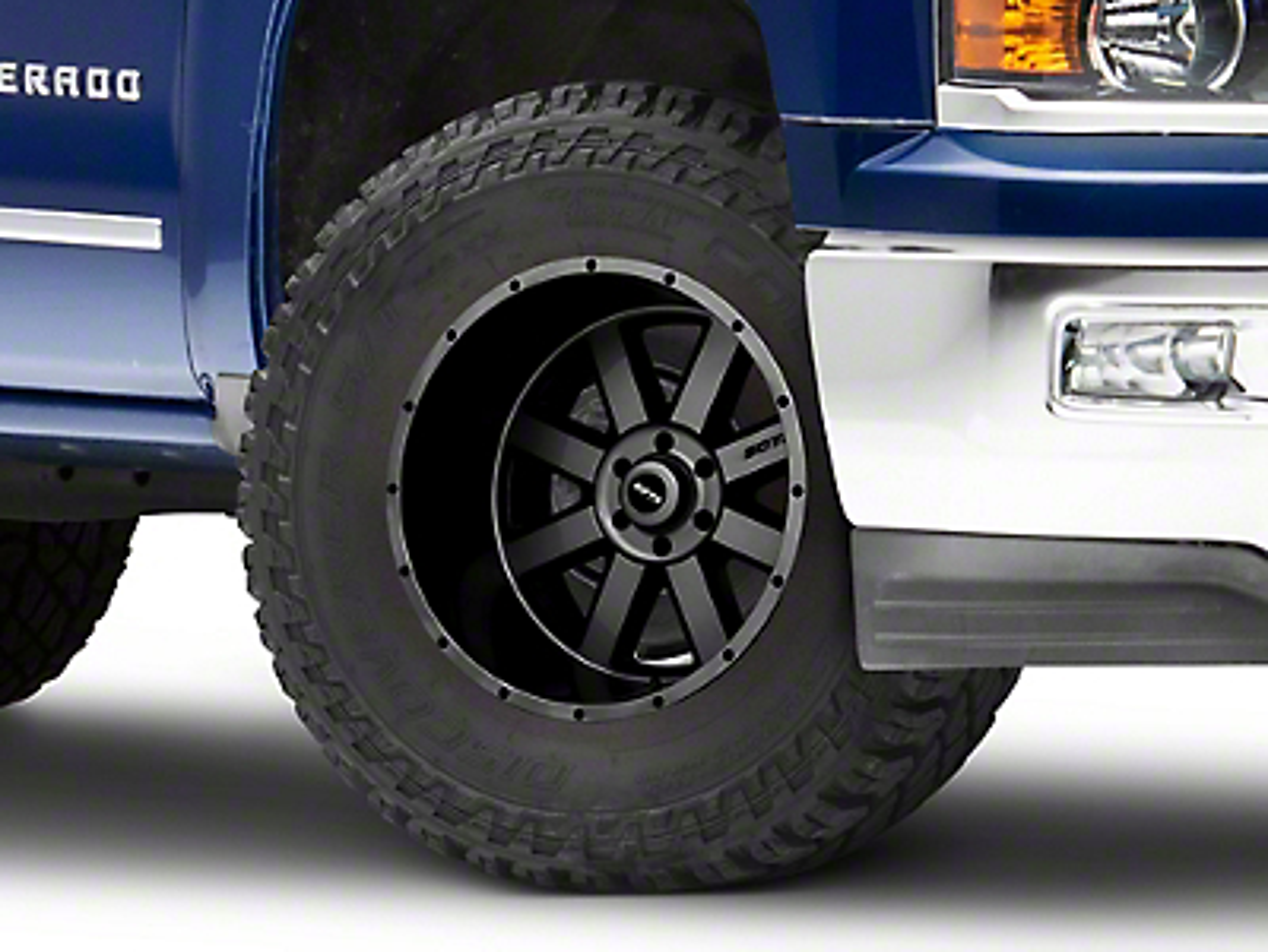 SOTA Off Road AWOL Anthra-Kote Black 6-Lug Wheel - 22x12 (07-18 Silverado 1500)