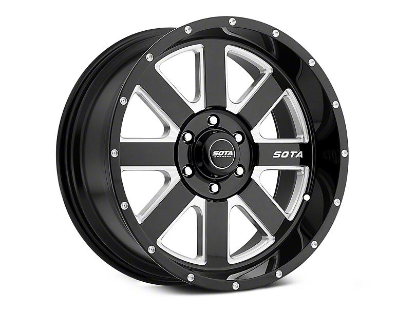 SOTA Off Road A.W.O.L. Death Metal 6-Lug Wheel - 22x12; -51mm Offset (99-19 Silverado 1500)