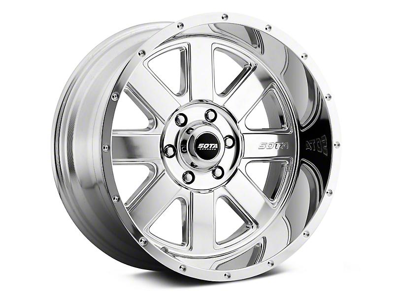SOTA Off Road A.W.O.L. Polished 6-Lug Wheel - 20x12; -51mm Offset (99-19 Silverado 1500)