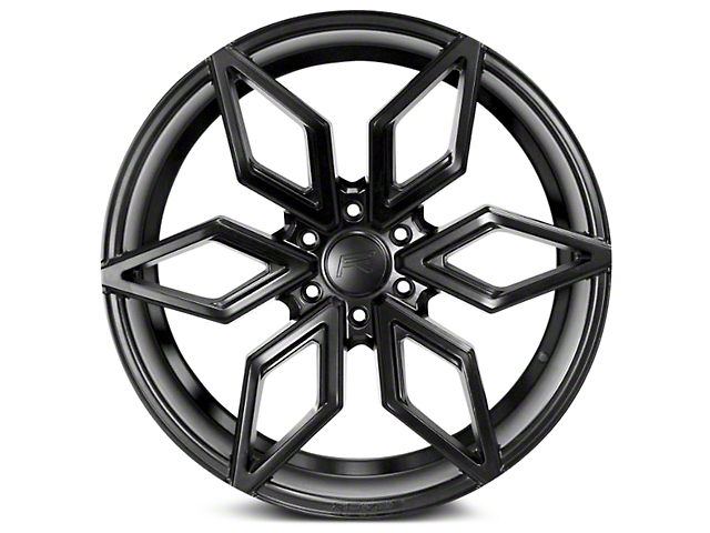 Rovos Kimberley Satin Black 6-Lug Wheel; 24x10 (07-18 Silverado 1500)