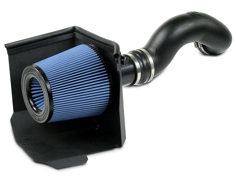 AFE Magnum Force Stage 2 Pro 5R Cold Air Intake - Black (09-13 4.8L, 5.3L, 6.2L w/ Electric Fan)