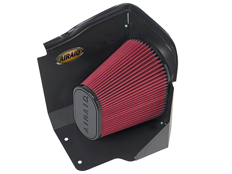 Airaid QuickFit Air Dam w/ SynthaFlow Oiled Filter (09-13 4.8L Silverado 1500)