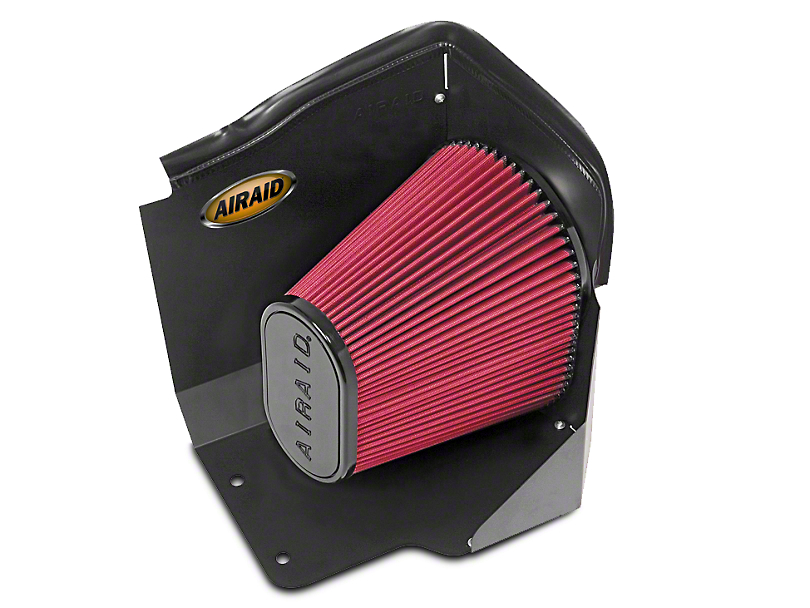 Airaid QuickFit Air Dam w/ Red SynthaMax Dry Filter (2009 6.0L Hybrid Silverado 1500)