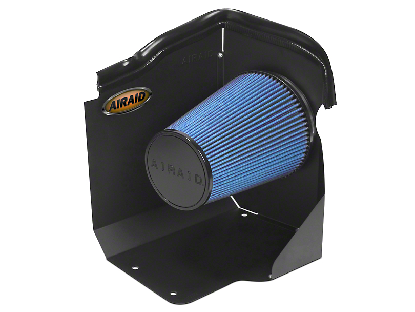 Airaid QuickFit Air Dam w/ Blue SynthaMax Dry Filter (07-08 6.0L Silverado 1500)