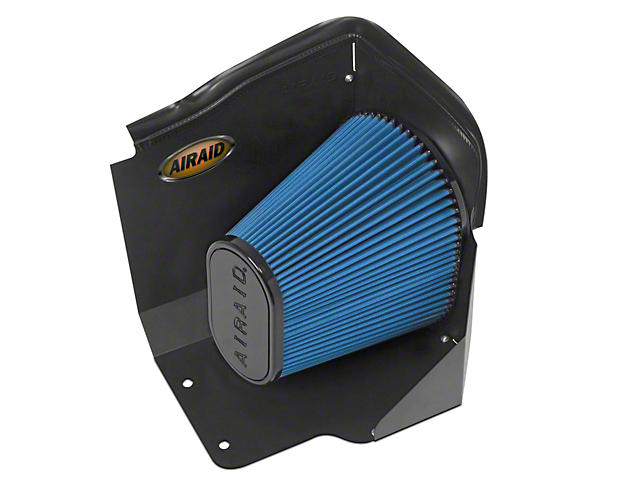 Airaid QuickFit Air Dam w/ Blue SynthaMax Dry Filter (2009 6.0L Hybrid Silverado 1500)