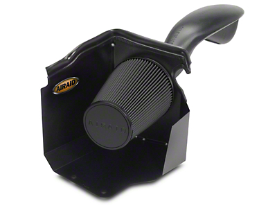 Airaid Cold Air Dam Intake w/ Black SynthaMax Dry Filter (99-06 4.8L, 5.3L Silverado 1500 w/ Mechanical Cooling Fan & Low Profile Hood)