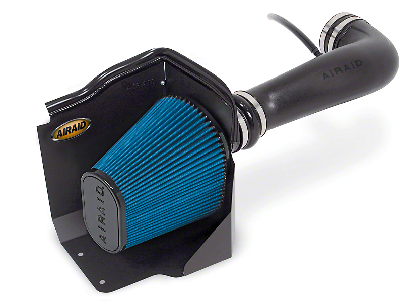 Airaid Cold Air Dam Intake - Blue SynthaMax Dry Filter (09-13 4.8L, 5.3L, 6.2L; 09-10 6.0L w/ Electric Cooling Fan)