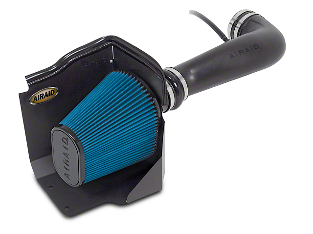 Airaid Cold Air Dam Intake w/ Blue SynthaMax Dry Filter (09-13 4.8L Silverado 1500 w/ Electric Cooling Fan)