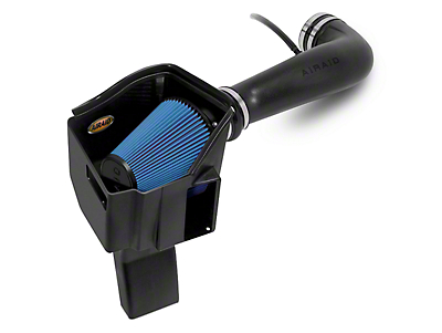 Airaid MXP Series Cold Air Intake w/ Blue SynthaMax Dry Filter (07-08 5.3L Silverado 1500 w/ Electric Cooling Fan)
