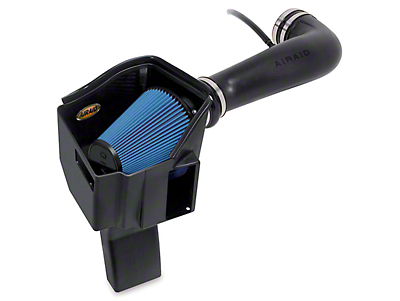 Airaid MXP Series Cold Air Intake w/ Blue SynthaMax Dry Filter (2009 6.0L Silverado 1500 w/ Electric Cooling Fan, Excluding Hybrid)