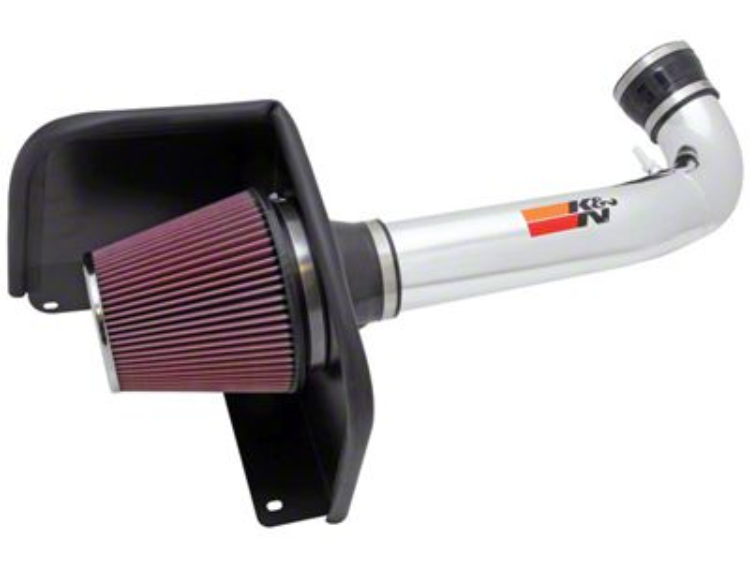 K&N Series 77 High Flow Performance Cold Air Intake (09-13 5.3L Silverado 1500)
