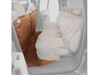 Covercraft Canine Covers CoverAll Seat Protector - Tan (07-13 Silverado 1500 Extended Cab, Crew Cab)