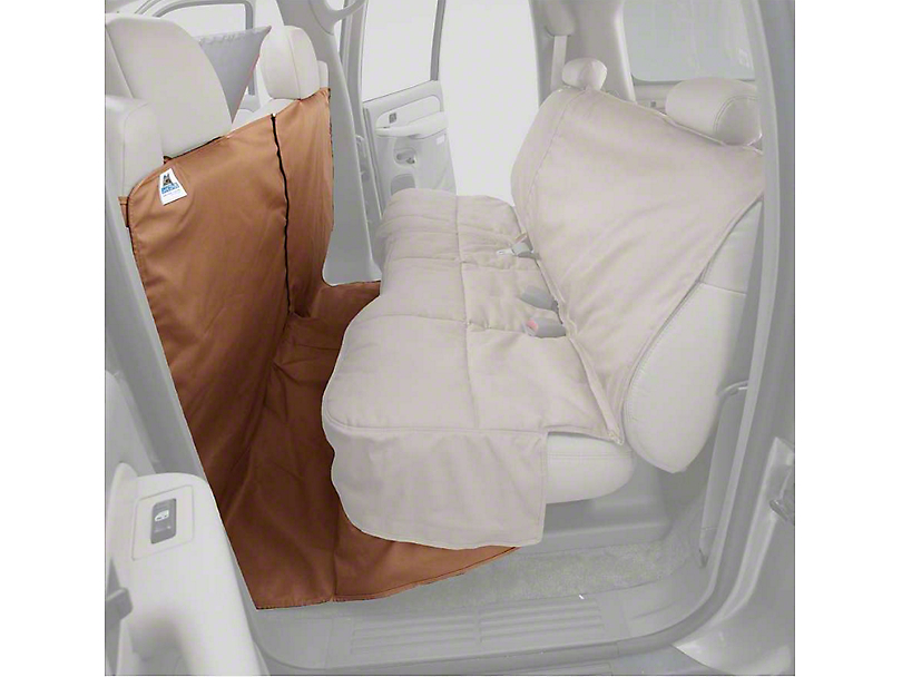 Covercraft Canine Covers CoverAll Seat Protector - Tan (14-18 Silverado 1500 Double Cab, Crew Cab)