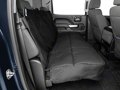 Covercraft Canine Covers Semi-Custom Rear Seat Protector - Black (07-18 Silverado 1500 Extended/Double Cab, Crew Cab)