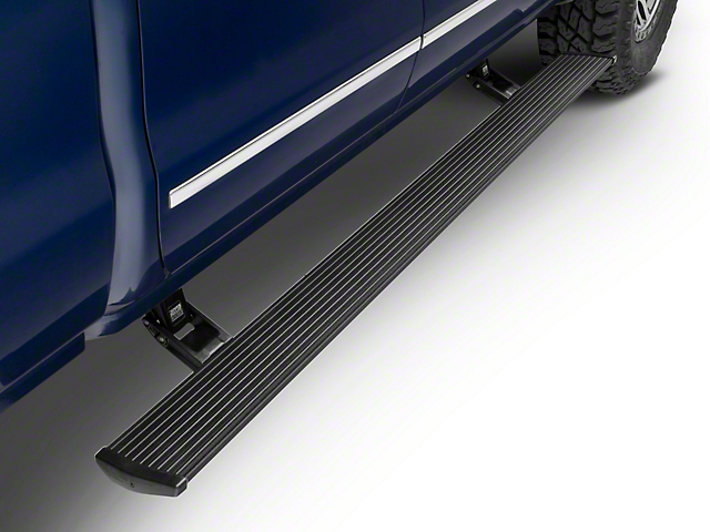 Amp Research PowerStep Running Boards; Plug-n-Play (14-18 Silverado 1500 Double Cab, Crew Cab)