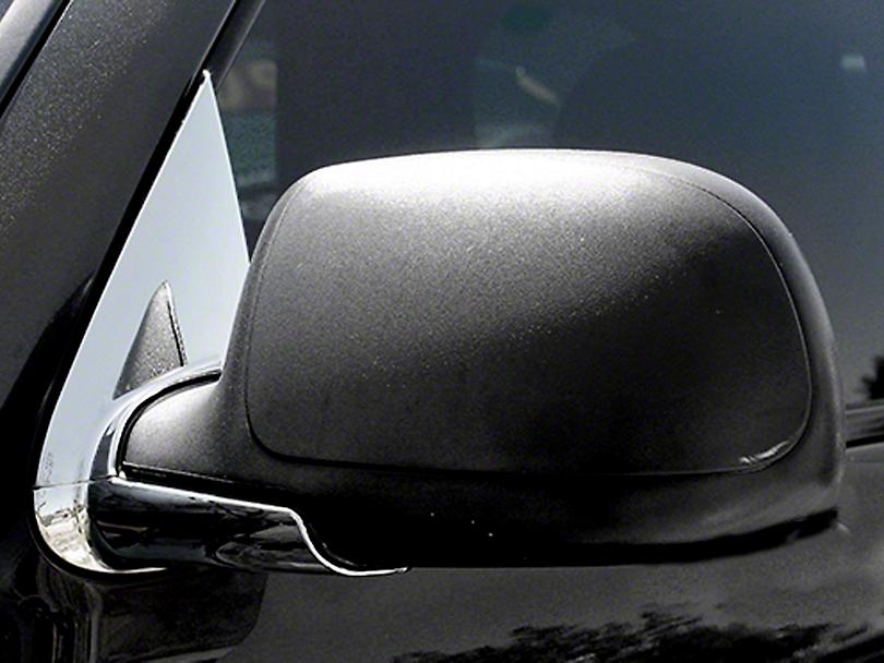 Chrome Mirror Base Covers (99-06 Silverado 1500 w/o Tow Mirrors)