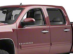 Door Handle Covers; Chrome (07-13 Silverado 1500 Crew Cab)