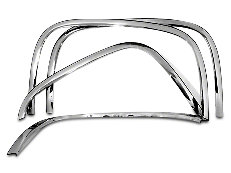 Stainless Steel Fender Trim - Chrome (07-13 Silverado 1500)