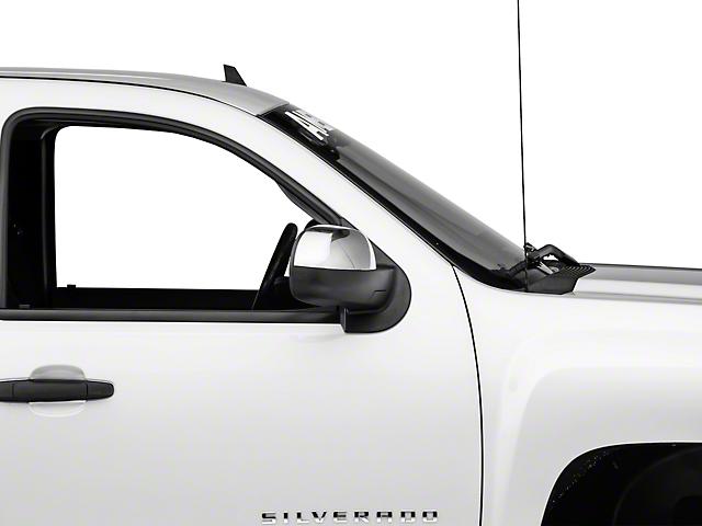 Mirror Covers; Chrome (07-13 Silverado 1500 w/o Tow Mirrors)