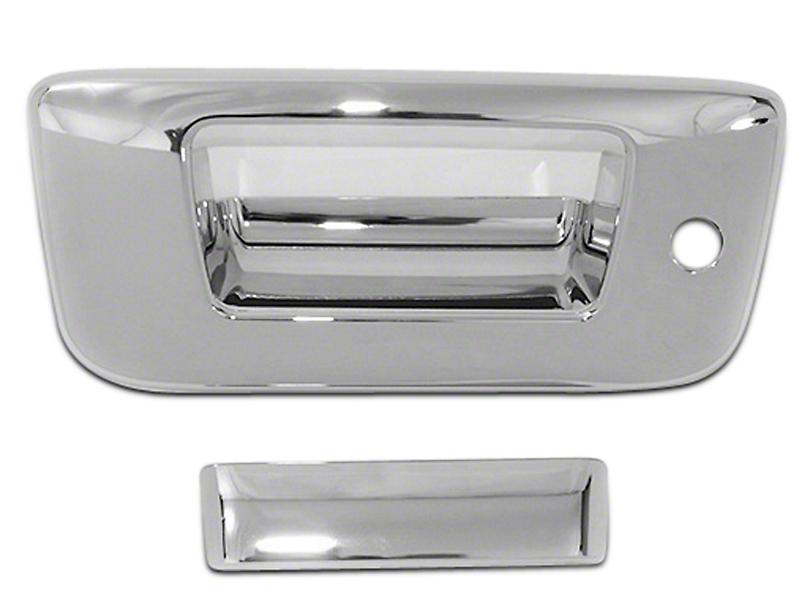 Chrome Tailgate Handle Covers (07-13 Silverado 1500)