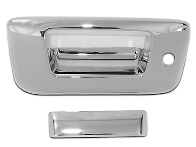 Chrome Tailgate Handle Covers (07-13 Silverado 1500)