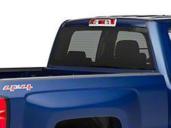 Third Brake Light Cover; Chrome (14-18 Silverado 1500)