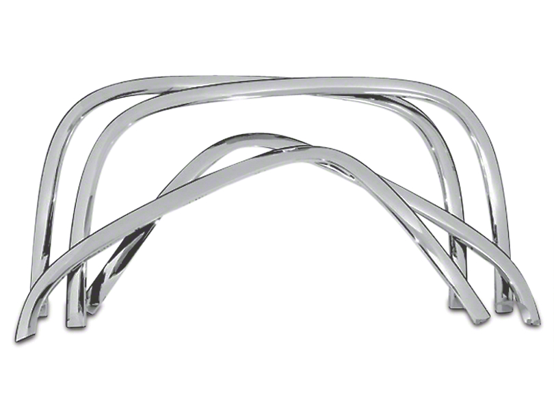 Stainless Steel Fender Trim - Chrome (07-13 All)