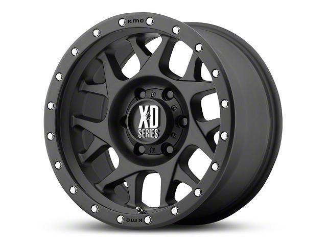 XD Bully Satin Black 6-Lug Wheel; 20x10 (07-18 All)