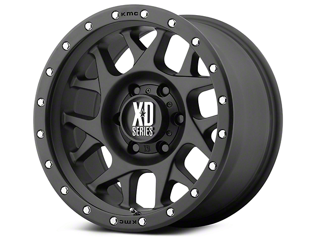 XD Bully Satin Black 6-Lug Wheel - 18x9 (07-18 Silverado 1500)