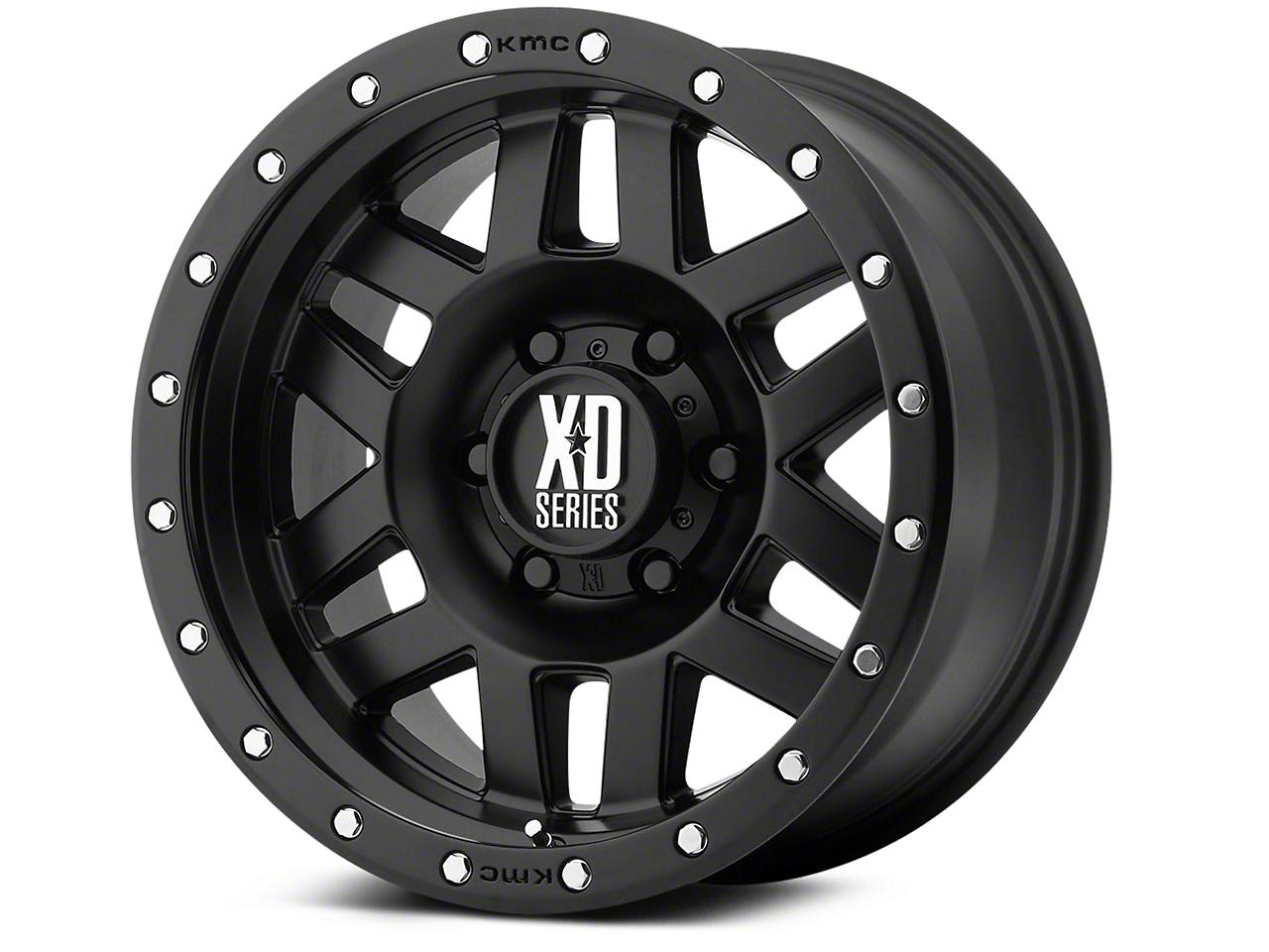 XD Machete Satin Black 6-Lug Wheel - 20x9 (99-18 Silverado 1500)