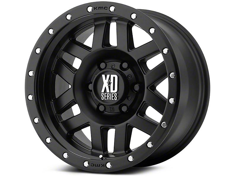 XD Machete Satin Black 6-Lug Wheel - 17x9 (07-18 Silverado 1500)