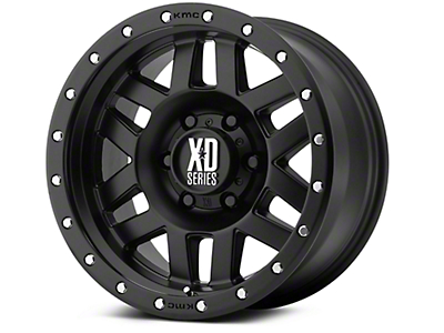 XD Machete Satin Black 6-Lug Wheel - 18x9 (07-18 Silverado 1500)