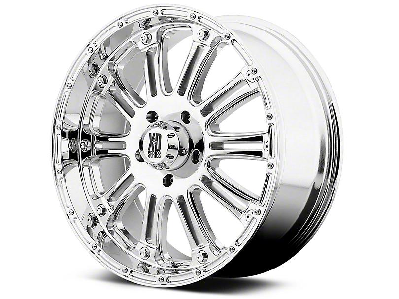 XD Hoss Chrome 6-Lug Wheel - 20x9 (99-18 Silverado 1500)