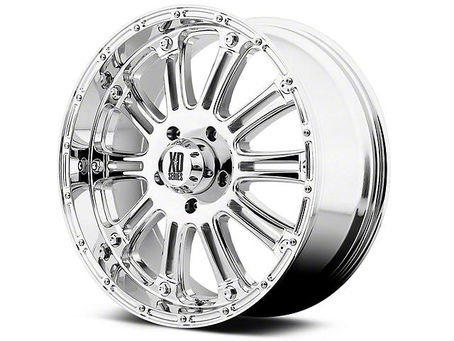 XD Hoss Chrome 6-Lug Wheel; 20x9 (99-20 Silverado 1500)