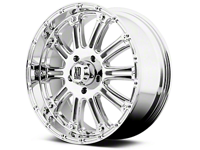 XD Hoss Chrome 6-Lug Wheel - 20x9 (99-18 Silverado 1500)