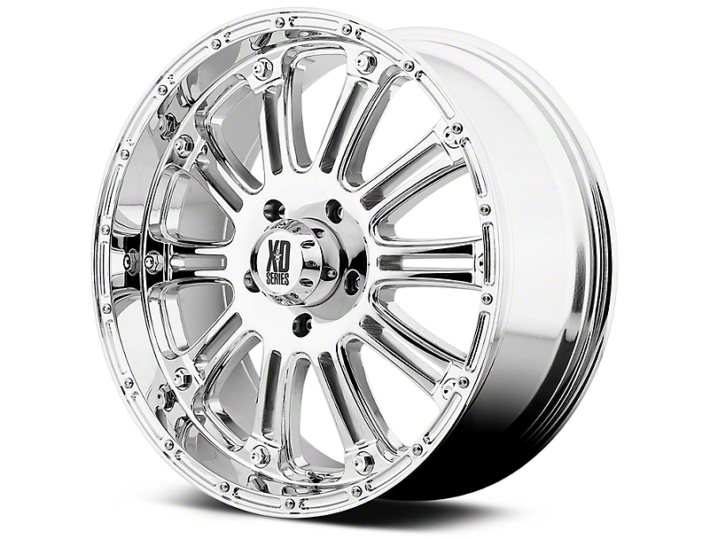 XD Hoss Chrome 6-Lug Wheel - 17x9 (99-18 Silverado 1500)