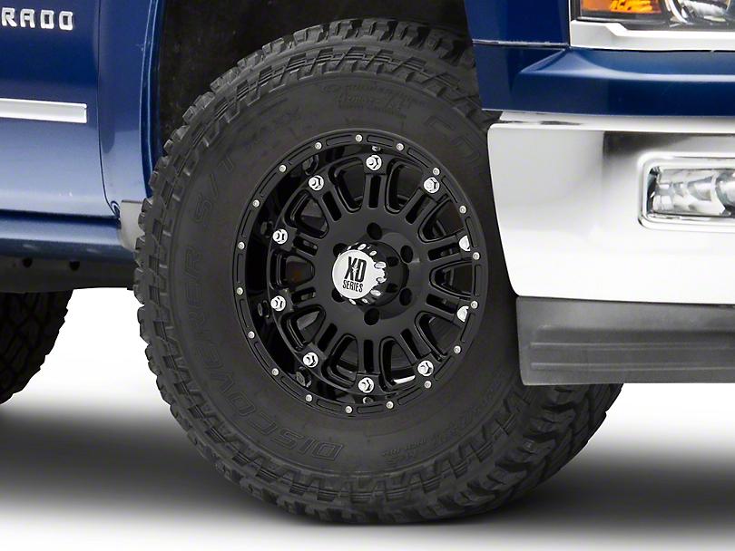 XD Hoss Gloss Black 6-Lug Wheel - 17x9 (99-19 Silverado 1500)