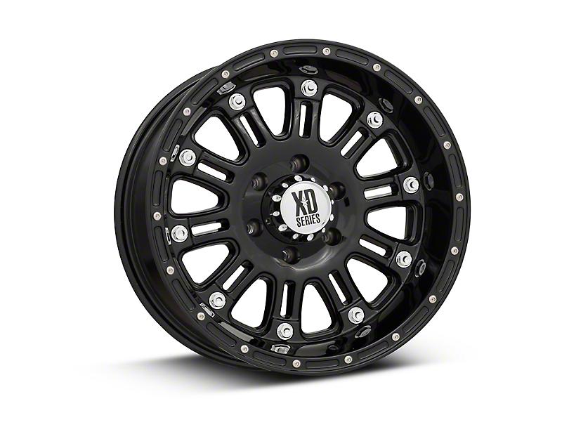 XD Hoss Gloss Black 6-Lug Wheel - 18x9 (99-19 Silverado 1500)
