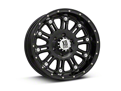 XD Hoss Gloss Black 6-Lug Wheel - 18x9 (07-18 Silverado 1500)