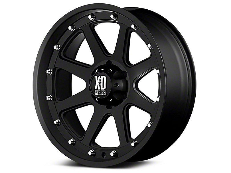 XD Addict Matte Black 6-Lug Wheel - 20x9 (99-19 Silverado 1500)
