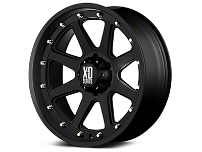 XD Addict Matte Black 6-Lug Wheel - 20x9 (07-18 Silverado 1500)