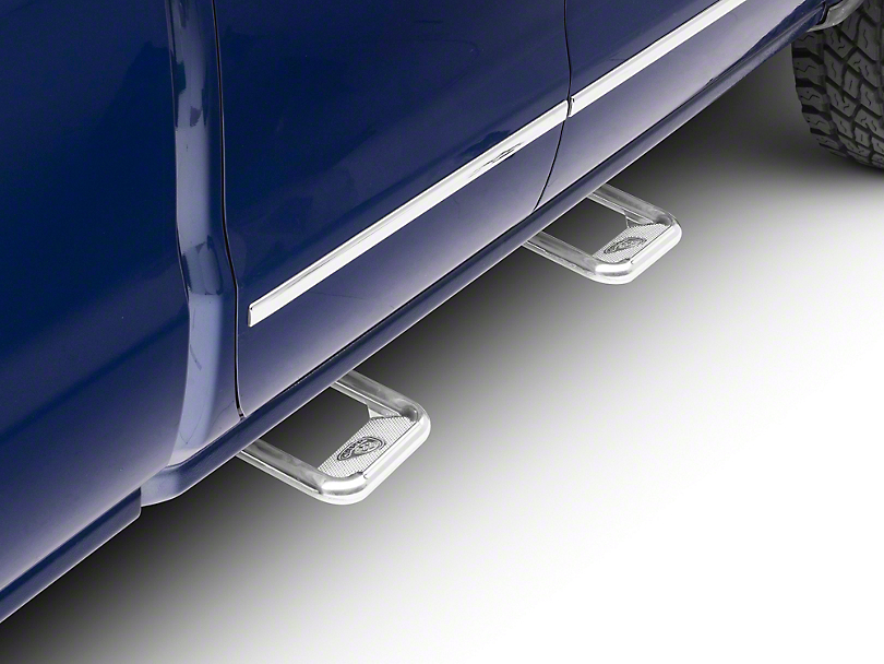 Carr Hoop II Steps - Polished (99-18 Silverado 1500)