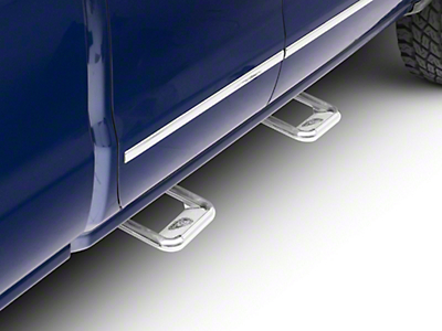 Carr Hoop II Steps - Polished (07-18 Silverado 1500)