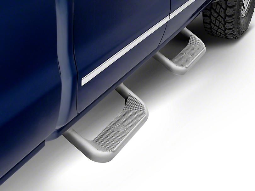 Carr Super Hoop Steps - Titanium Silver (07-18 Silverado 1500)