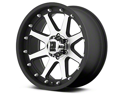 XD Addict Matte Black Machined 6-Lug Wheel - 18x9 (07-18 Silverado 1500)