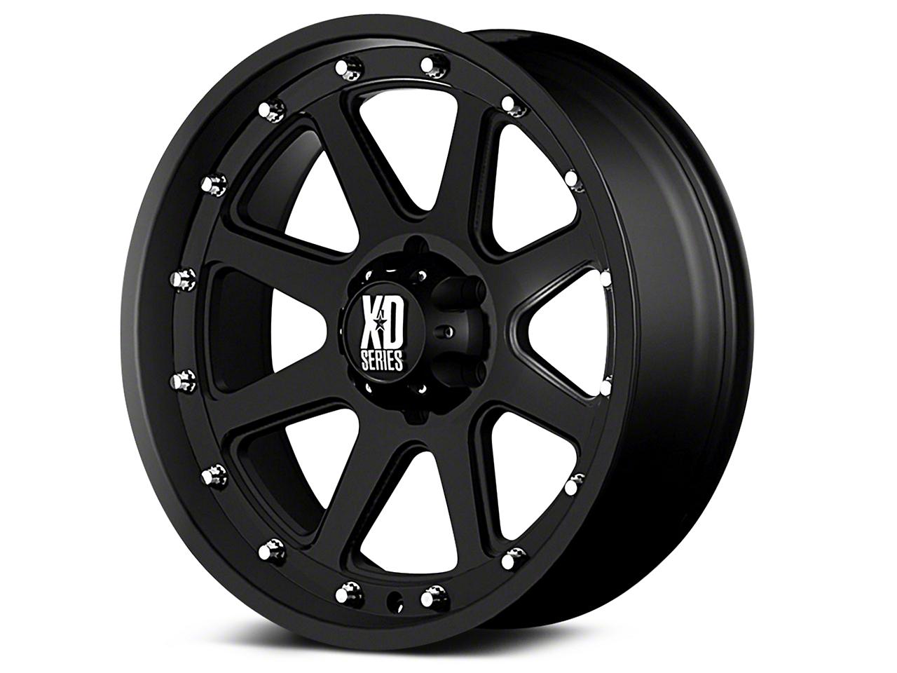 XD Addict Matte Black 6-Lug Wheel - 18x9 (07-18 Silverado 1500)