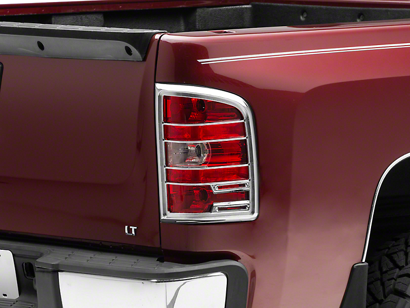 Putco Chrome Tail Light Covers (07-13 Silverado 1500)